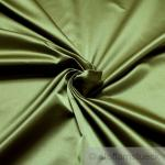 Stoff Trevira® CS Satin schilfgrün nicht brennbar B1 blickdicht