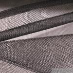 2 Meter Stoff Nylon Tüll schwarz für Bekleidung & Deko hochwertig Petticoat Tütü