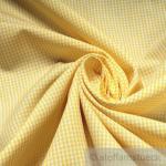 Stoff Baumwolle Vichy Karo klein gelb weiß 1, 5 mm Vichykaro