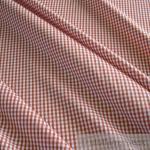 Stoff Baumwolle Vichy Karo rost weiß 2, 5 mm Vichykaro