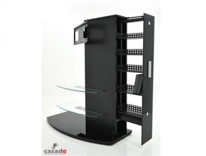 """""""Almeria"""" LCD TV Hifi Standkonsole Standfuß Rack Tisch Trägersystem 4 Farben - Vorschau 1"""