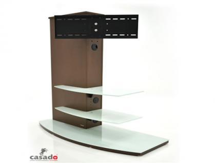 """""""Almeria"""" LCD TV Hifi Standkonsole Standfuß Rack Tisch Trägersystem 4 Farben - Vorschau 3"""