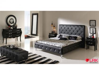 polsterbett nelly inkl lattenrost kaufen bei lrk moebel gbr. Black Bedroom Furniture Sets. Home Design Ideas