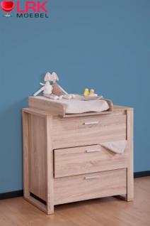 Childwood Wickelkommode mit Wickelaufsatz Wickeltisch Kommode Baby Wickelregal - Vorschau 1