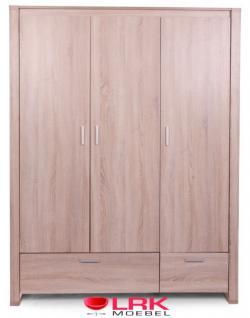 Childwood Kleiderschrank 3-türig Schrank Kinderkleiderschrank Neu Oracle OAK