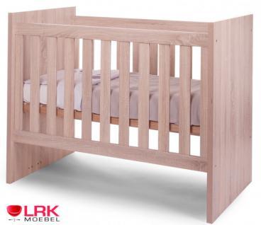 Childwood Kombi Kinderbett Babybett Bett Wandelbar zum Juniorbett Gitterbett