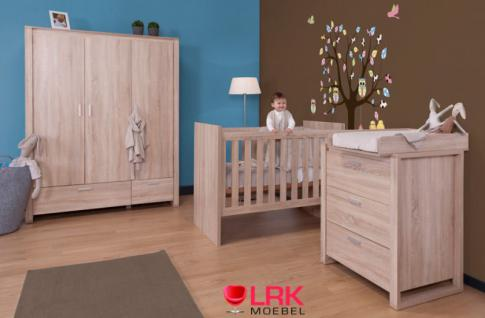 childwood kombi kinderbett babybett bett wandelbar zum. Black Bedroom Furniture Sets. Home Design Ideas