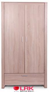Childwood Kleiderschrank 2-türig Schrank Kinderkleiderschrank Neu Oracle OAK - Vorschau 3