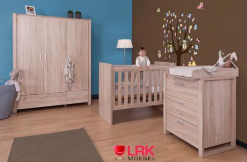 Childwood Kleiderschrank 2-türig Schrank Kinderkleiderschrank Neu Oracle OAK - Vorschau 4