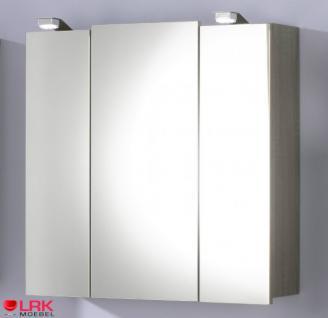 5423 badezimmer spiegelschrank salona mit led beleuchtung in verschied farben kaufen bei lrk. Black Bedroom Furniture Sets. Home Design Ideas