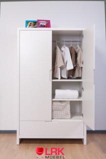 Childwood Kleiderschrank 2-türig Schrank Kinderkleiderschrank Quadro New - Vorschau 1
