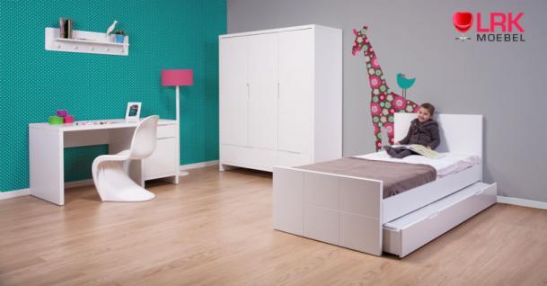 Childwood Kleiderschrank 2-türig Schrank Kinderkleiderschrank Quadro New - Vorschau 4
