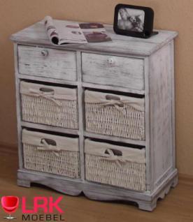 3607 kommode used look regalschrank mit k rben und schubk sten aus massivholz. Black Bedroom Furniture Sets. Home Design Ideas