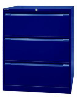Bisley Doppelbahnig Hängeregistraturschrank Schrank Akten Büro Möbel in 5 Farben - Vorschau 4