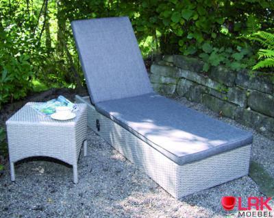 """Sonnenliege """"Boston"""" Liege mit Gasdruck-Verstellung Relaxliege Gartenliege Möbel - Vorschau 2"""