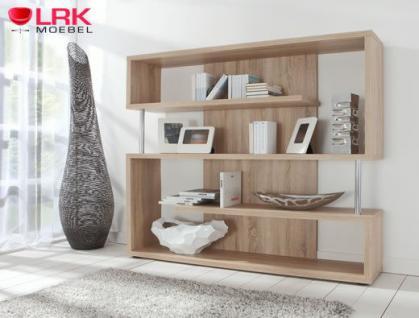 tt02 twist standregal regal b cherregal raumteiler in hochglanz und eiche nb kaufen bei lrk. Black Bedroom Furniture Sets. Home Design Ideas