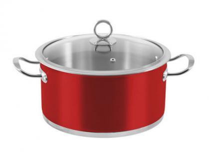 """6-tlg. Kochtopf-Set """"Rossa"""" Kochtöpfe Topf Essen Kochen Küche Set Neu Qualität - Vorschau 3"""