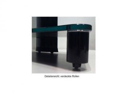 """VCM TV-Möbel """"Porano Schwarz"""" LCD TV Hifi Standkonsole Rack Tisch in 2 Größen - Vorschau 3"""