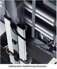 """VCM TV-Möbel """"Porano Schwarz"""" LCD TV Hifi Standkonsole Rack Tisch in 2 Größen - Vorschau 4"""