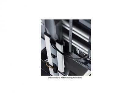 """VCM """"Ravenna"""" mit Halterung Möbel LCD TV Hifi Standkonsole Rack Tisch Schwarz - Vorschau 3"""