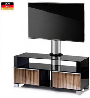 """VCM """"Ravenna"""" mit Halterung Möbel LCD TV Hifi Standkonsole Rack Tisch Milano - Vorschau 1"""