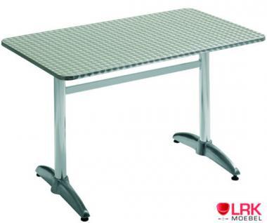 Klapptisch Bistrotisch Tisch Gartentisch Garten Möbel Gartenmöbel neu Edelstahl