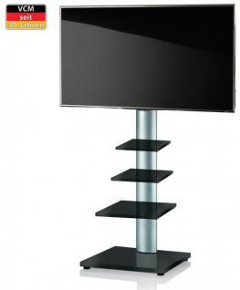 """VCM TV-Standfuß """"RAHU""""LCD TV Hifi Standkonsole Möbel Rack Tisch Trägersystem"""