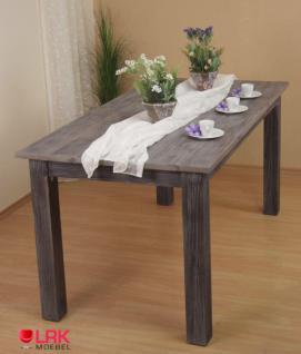 Massivholztisch Tisch Möbel Esstisch Massiv Holz in 2 Farben und 3 Größen