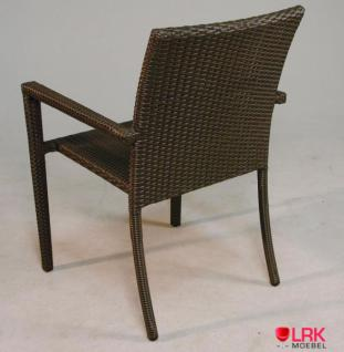 Armlehnstuhl Stapelbar Möbel Stuhl Gartenmöbel Gartenstuhl in 3 Farben - Vorschau 2