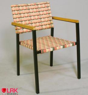 Armlehnstuhl Stapelbar Garten Möbel Stuhl Gartenmöbel Gartenstuhl in 4 Farben - Vorschau 4