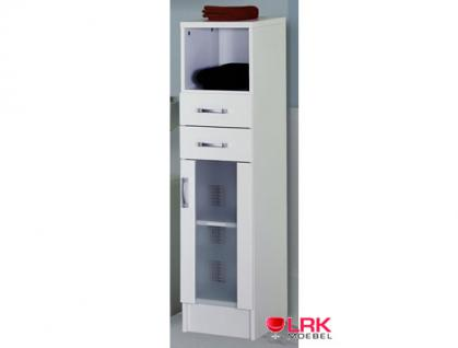 5410 badezimmer midischrank nizza bad m bel in weiss kaufen bei lrk moebel gbr. Black Bedroom Furniture Sets. Home Design Ideas
