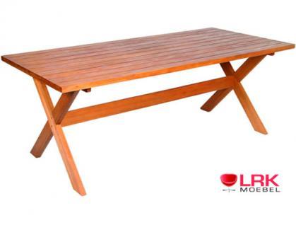 """Budapest"" Tisch aus FSC Eukalyptusholz"