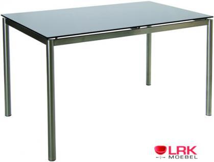 """Tisch """"Fly Rona"""" 150x90 mit Glasplatte"""