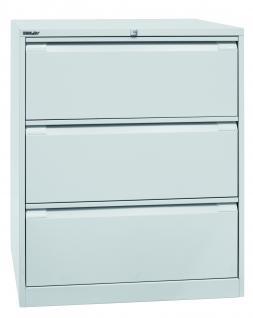 Bisley Doppelbahnig Hängeregistraturschrank Schrank Akten Büro Möbel in 5 Farben - Vorschau 1