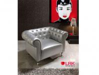 Dupen Sessel mit Glaskristallsteine