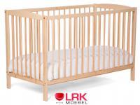 Childwood Babybett 60x120cm Kinderbett Bett Gitterbett inkl.Lattenrost Neu