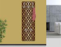 """Design Wandgarderobe """"Thalia"""" Print Garderobe Möbel Diele Flur Haken Neu"""