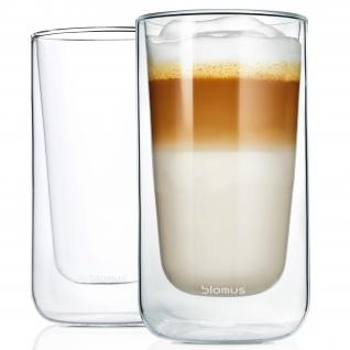 Blomus Thermo Gläser Latte-Macchiato-Gläser NERO 2-teiliges Set