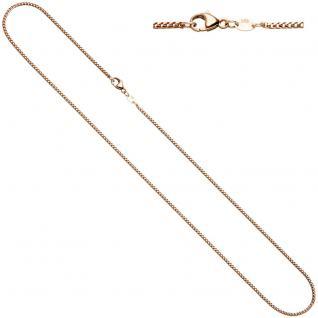 Bingokette 585 Rotgold 1, 5 mm 45 cm Gold Kette Halskette Rotgoldkette Karabiner