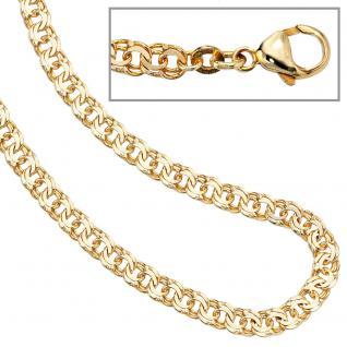 Garibaldikette 333 Gelbgold 4, 6 mm 45 cm Gold Kette Halskette Goldkette