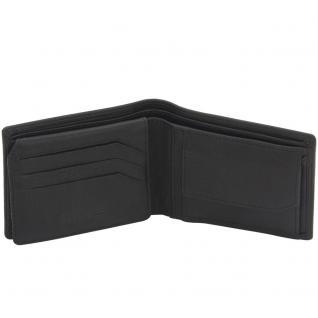 Friedrich Lederwaren Geldbörse CLASSIC LINE Nappa Leder schwarz RFID Schutz
