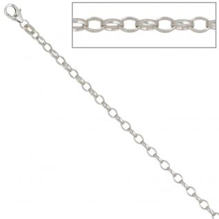 Ankerkette 925 Silber 3, 0 mm 70 cm Halskette Kette Silberkette Karabiner