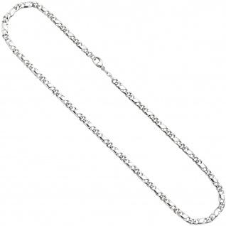 Halskette Kette 585 Weißgold 45 cm Goldkette Karabiner