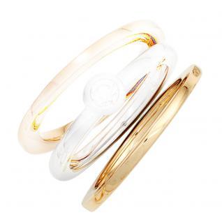 Damen Ring 585 Gold Gelbgold Goldring - 54