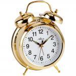 Atlanta 1060/9 Mechanischer Wecker Glockenwecker Doppelglockenwecker golden