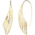 Durchzieh-Ohrhänger 925 Sterling Silber gold vergoldet Ohrringe zum Durchziehen