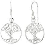 Ohrhänger Baum Lebensbaum 925 Sterling Silber Ohrringe Silberohrringe
