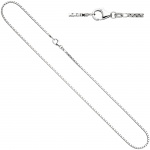 Venezianerkette 925 Silber 1, 2 mm 42 cm Halskette Kette Silberkette Karabiner