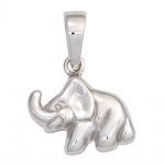 Kinder Anhänger Elefant 925 Sterling Silber rhodiniert Kinderanhänger