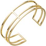 Armspange / offener Armreif 925 Silber gold vergoldet Armband mehrreihig